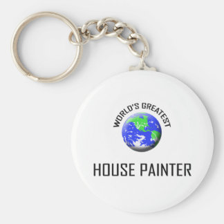 World's Greatest House Painter Key Ring