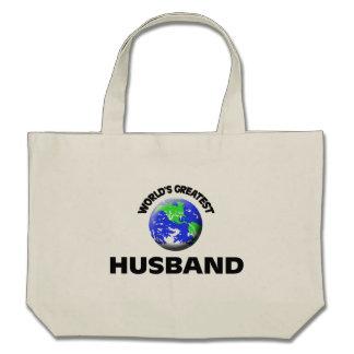 World's Greatest Husband Canvas Bag
