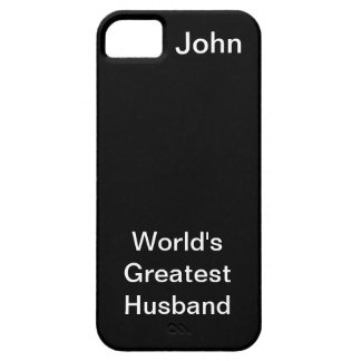 Worlds Greatest Husband iPhone 5 Covers