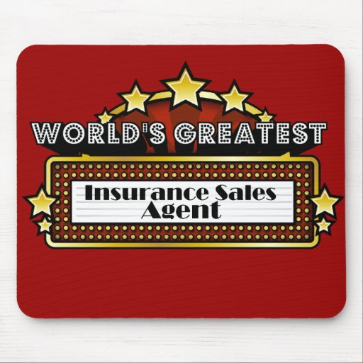 World's Greatest Insurance Sales Agent Mouse Pad