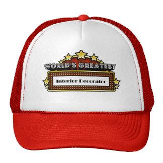 World's Greatest Interior Decorator Trucker Hat