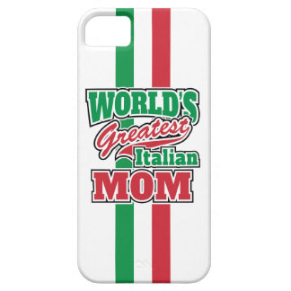 World's Greatest Italian Mom Barely There iPhone 5 Case