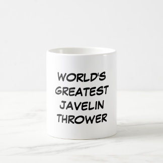 """World's Greatest Javelin Thrower"" Mug"
