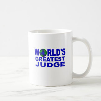 World's Greatest Judge Coffee Mug