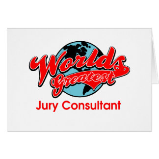 World's Greatest Jury Consultant Card