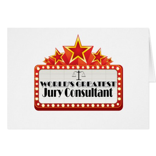 World's Greatest Jury Consultant Cards