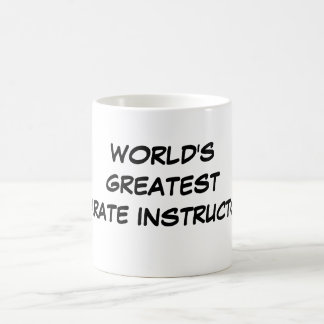 """World's Greatest Karate Instructor""  Mug"