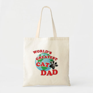 World's Greatest Kitty Daddy Tote Bag