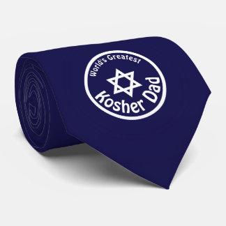 World's Greatest Kosher Dad Tie