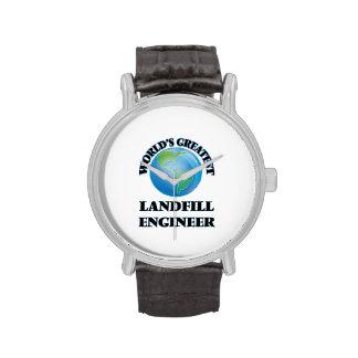 World's Greatest Landfill Engineer Wristwatches
