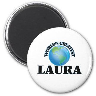 World's Greatest Laura Fridge Magnets