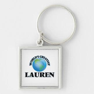 World's Greatest Lauren Key Chain