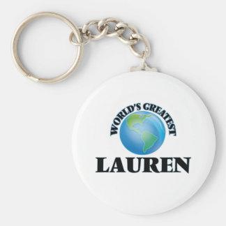 World's Greatest Lauren Key Chains