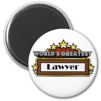 World's Greatest Lawyer Refrigerator Magnet