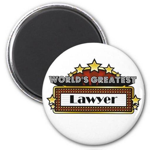 World's Greatest Lawyer Refrigerator Magnet