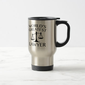 World's Greatest Lawyer Travel Mug