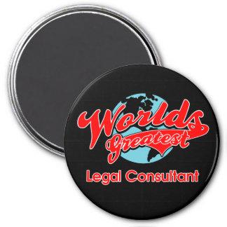World's Greatest Legal Consultant 7.5 Cm Round Magnet