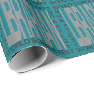 Worlds Greatest Librarian Wrapping Paper