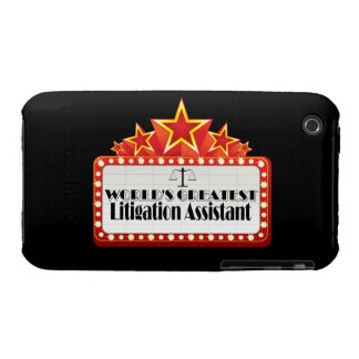 World's Greatest Litigation Assistant iPhone 3 Case-Mate Case