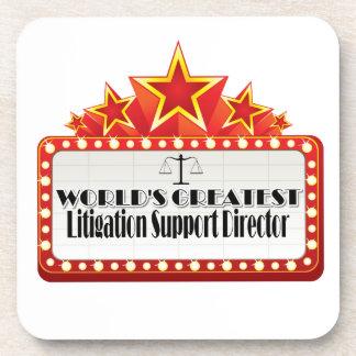 World's Greatest Litigation Support Director Coaster