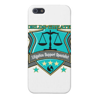 World's Greatest Litigation Support Specialist iPhone 5 Cover