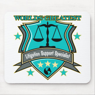 World's Greatest Litigation Support Specialist Mouse Pads