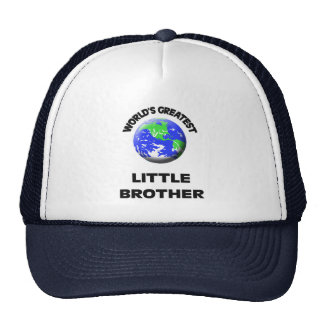 World's Greatest Little Brother Hat