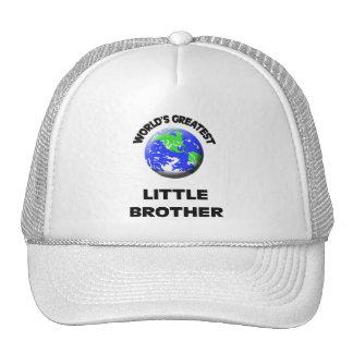 World's Greatest Little Brother Trucker Hat