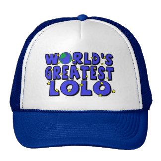 World's Greatest Lolo Hat