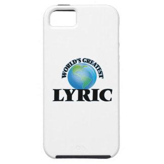 World's Greatest Lyric iPhone 5 Case