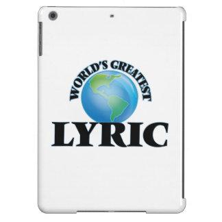 World's Greatest Lyric iPad Air Cover