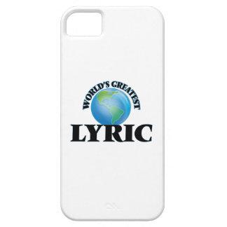 World's Greatest Lyric iPhone 5 Cover