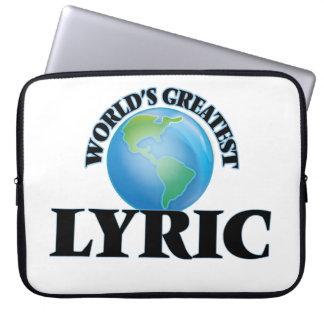 World's Greatest Lyric Computer Sleeves