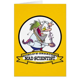 WORLDS GREATEST MAD SCIENTIST MEN CARTOON CARD