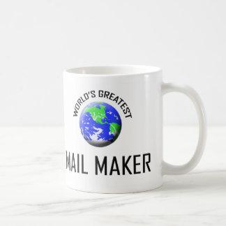 World's Greatest Mail Maker Coffee Mug