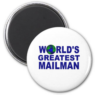 World's Greatest Mailman 6 Cm Round Magnet