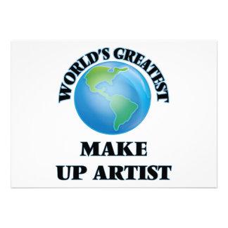 World's Greatest Make Up Artist Card