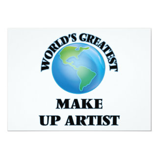 World's Greatest Make Up Artist Card