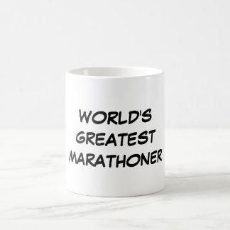 """World's Greatest Marathoner"" Mug"