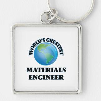 World's Greatest Materials Engineer Key Chain