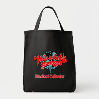 World's Greatest Medical Collector Canvas Bags