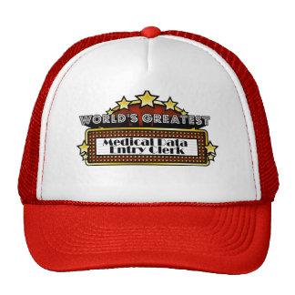 World's Greatest Medical Data Entry Clerk Mesh Hats