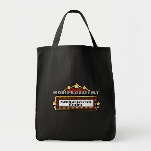 World's Greatest Medical Records Coder Bag