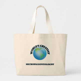 World's Greatest Micropaleontologist Bag