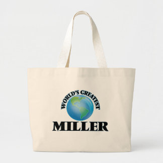 World's Greatest Miller Tote Bags