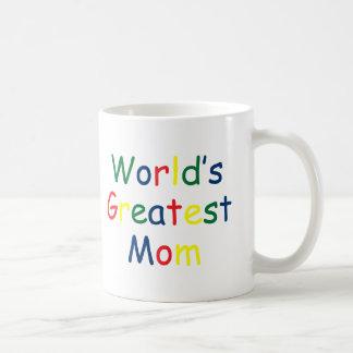 Worlds Greatest Mom Basic White Mug