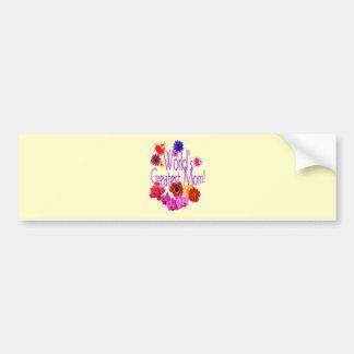 World's Greatest Mom! Bumper Sticker