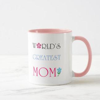 World's Greatest Mom Coffee Mug Mugs