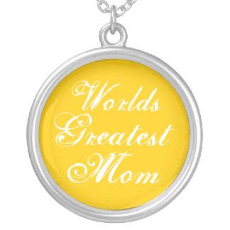 World's Greatest Mom Custom Jewelry