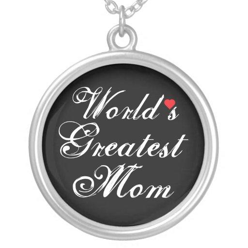 World's Greatest Mom Jewelry